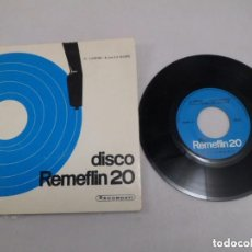 Discos de vinilo: G. LANDES - R. VON LA ROSEE - VOICE - DISCO REMEFLIN 20 - 33 RPM - CON FOLLETO - ED. ITALIANA. Lote 109357123