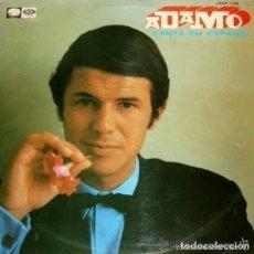 Discos de vinilo: ADAMO CANTA EN ESPAÑOL, LP ODEON SPAIN 1968. Lote 109358803