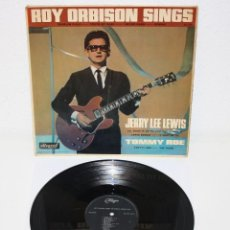 Discos de vinilo: ROY ORBISON SINGS JERRY LEE LEWIS TOMMY ROE 1965 ORIGINAL UK LP ALLEGRO. Lote 109363547