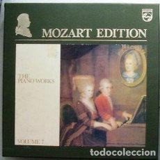 Discos de vinilo: MOZART EDITION. THE PIANO WORKS. VOLUME 7 DAS KLAVIERWERK THE PIANO WORKS PHILIPS 14XLP 1964 HOLLAND. Lote 109365483