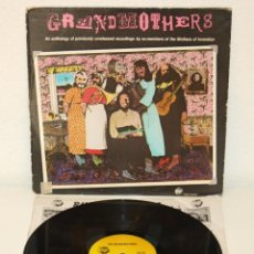 Discos de vinilo: GRANDMOTHERS MOTHERS OF INVENTION UNRELEASED RECORDINGS 1980 USA LP FRANK ZAPPA. Lote 109365803