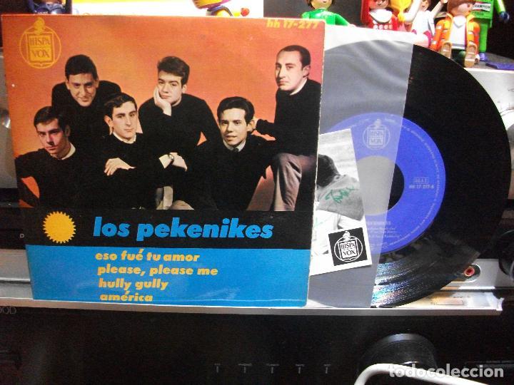 LOS PEKENIKES PLEASE PLEASE ME + 3 EP SPAIN 1964 PEPETO TOP (Música - Discos de Vinilo - EPs - Grupos Españoles 50 y 60)