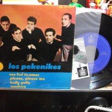 Discos de vinilo: LOS PEKENIKES PLEASE PLEASE ME + 3 EP SPAIN 1964 PEPETO TOP. Lote 109383999