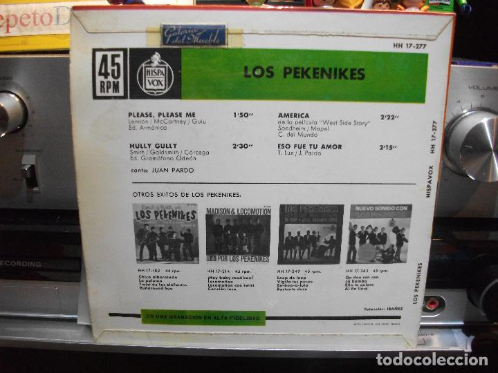 Discos de vinilo: LOS PEKENIKES PLEASE PLEASE ME + 3 EP SPAIN 1964 PEPETO TOP - Foto 2 - 109383999