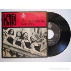 Discos de vinilo: LAS CHIC: PON UN ANILLO EN MI DEDO + VERANO DE AMOR + 2 , EDICIÓN FRANCESA. Lote 109385119