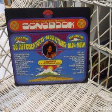 Discos de vinilo: VARIOUS– THE 1969 WARNER / REPRISE SONGBOOK.DOBLE LP ORIGINAL USA 1969.THE FUGS.NEIL YOUNG... Lote 109385243
