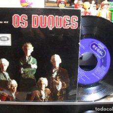 Discos de vinilo: OS DUQUES TUS VIAJES (DAY TRIPPER) + 3 1964 EP SPAIN PEPETO TOP. Lote 109385251