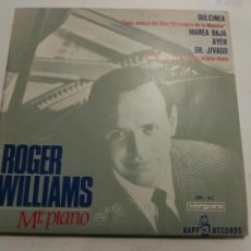 Discos de vinilo: ROGER WILLIAMS- EP DULCINEA/MAREA BAJA- KAPP RECORDS 1966 ESPAÑA 6. Lote 109387683