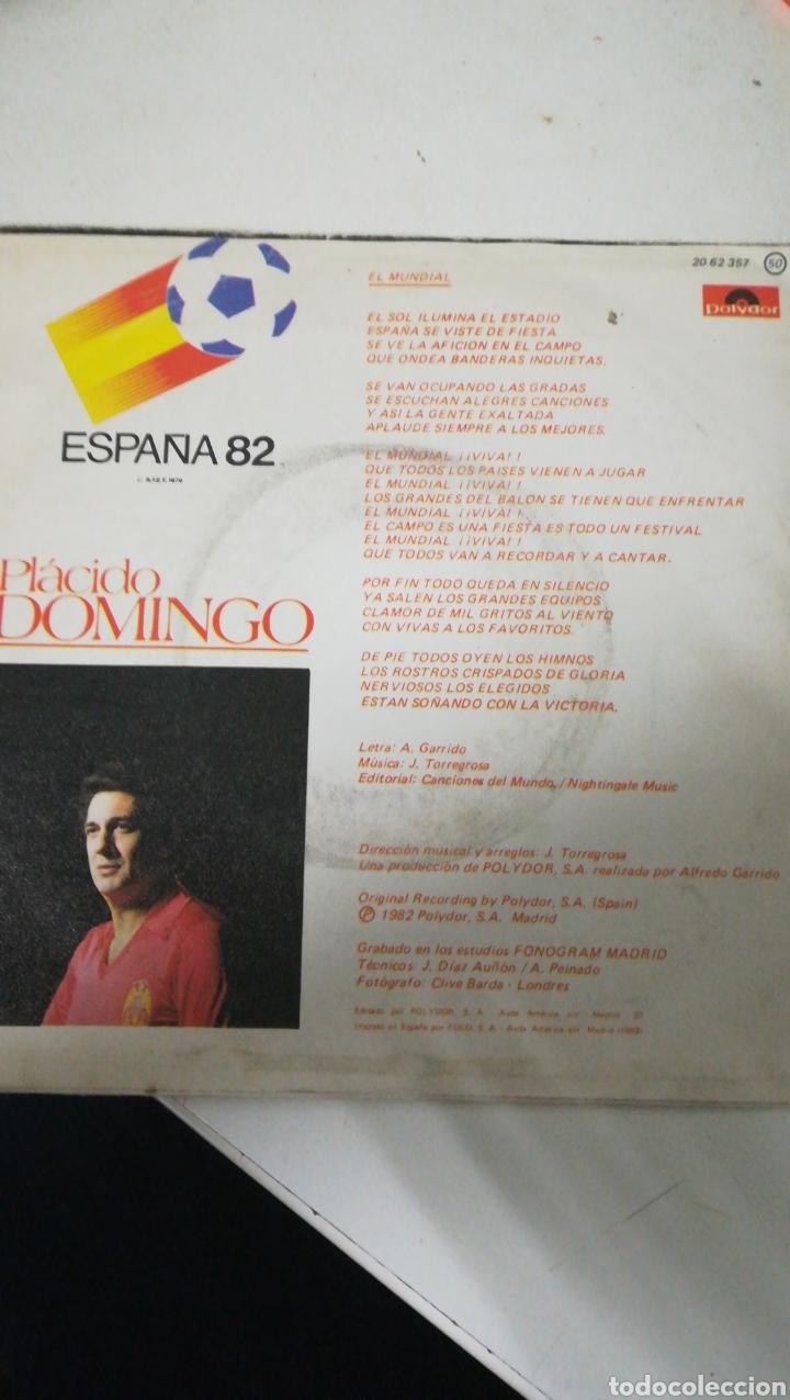 Discos de vinilo: Single vinilo mundial 82 - Foto 2 - 109390759