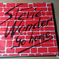 Discos de vinilo: CARATULA STEVIE WONDER - GO HOME . Lote 109395455