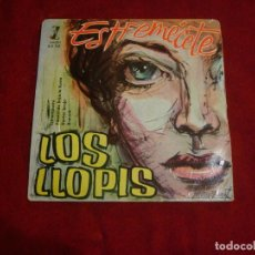 Discos de vinilo - los llopis estremecete paseando bajo la lluvia doctor brujo rock sello zafiro 1960 - 109396207