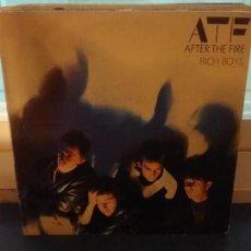 Discos de vinilo: AFTER THE FIRE ?– RICH BOYS. Lote 109396859