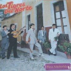 Discos de vinilo: LOS TIGRES DEL NORTE PARA ADOLORIDOS LP VINILO ¡¡PRECINTADO¡¡. Lote 109396899