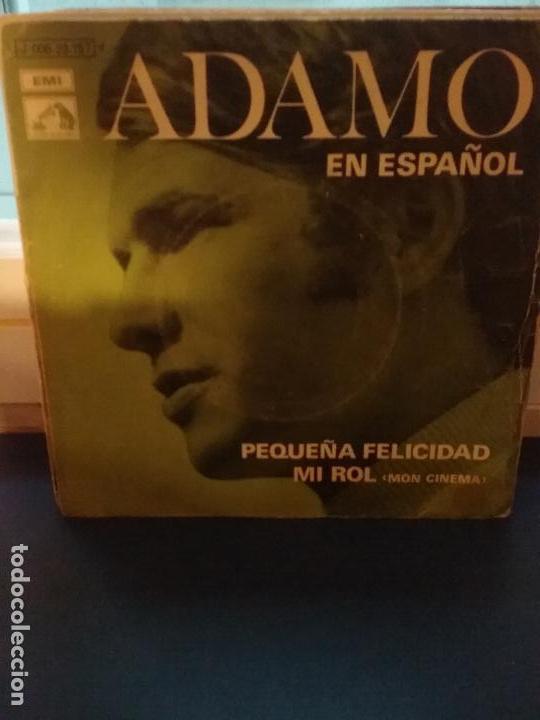 ADAMO ?– PEQUEÑA FELICIDAD (Música - Discos - Singles Vinilo - Cantautores Extranjeros)