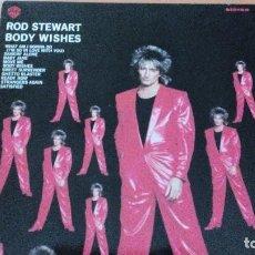 Discos de vinilo: ROD STEWART BODY WISHES LP. Lote 109397643