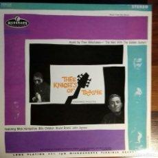Discos de vinilo: THEE MILKSHAKES. THEE KNIGHTS OF TRASHE LP MEDWAY GARAGE PUNK. Lote 109401187