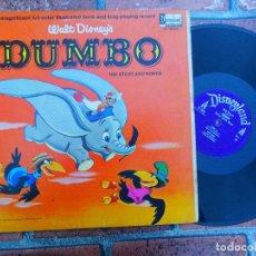 Discos de vinilo: WALT DISNEY'S / DUMBO / SONG AND STORIES / DISNEYLAND RECORDS ORIGINAL USA 1965. Lote 109407239