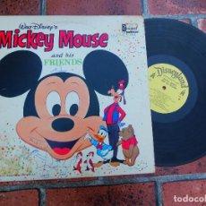 Discos de vinilo: WALT DISNEY'S / MICKEY MOUSE Y SUS AMIGOS / DISNEYLAND RECORDS ORIGINAL USA 1968. Lote 109407699