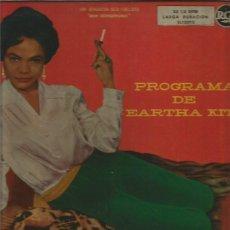 Discos de vinilo: EARTHA KITT LP SELLO RCA EDITADO EN ESPAÑA AÑO 1956 . Lote 109410951