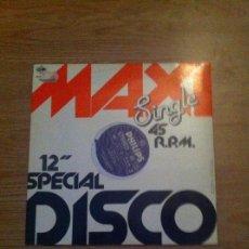 Discos de vinilo: MAXI SINGLE DISCO - VINILO. Lote 109412531