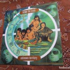 Discos de vinilo: BOMB THE BASS- LP DE VINILO- TITULO UNKNOWN TERRITORY- C0N 10 TEMAS- ORIGINAL DEL 91- NUEVO. Lote 109414975