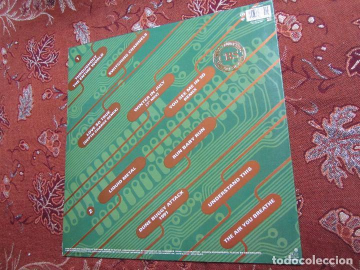 Discos de vinilo: BOMB THE BASS- LP DE VINILO- TITULO UNKNOWN TERRITORY- C0N 10 TEMAS- ORIGINAL DEL 91- NUEVO - Foto 2 - 109414975