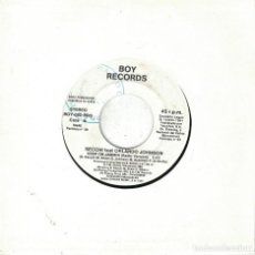 Disques de vinyle: SECCHI FEAT. ORLANDO JOHNSON - KEEP ON JAMMIN / FLUTE ON (SINGLE PROMO ESPAÑOL, BOY RECORDS 1991). Lote 109424087