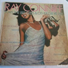 Discos de vinilo: LP. RAY CONNIFF. PLAYS THE BEE GEES & OTHER GREAT HITS. Lote 109425335
