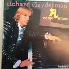 Discos de vinilo: LP. RICHARD CLAYDERMAN. COMO AMOR. Lote 109425591