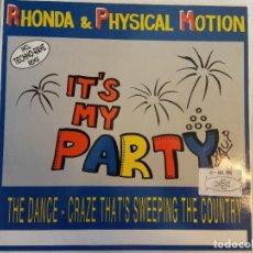 Discos de vinilo: LP. RHONDA & PHYSICAL MOTION. Lote 184105915