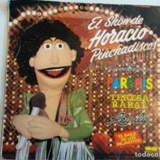 Discos de vinilo: LP. EL SHOW DE HORACIO. PINCHADISCOS. PARCHIS. Lote 109427139