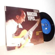 Discos de vinilo: NARCISO YEPES GUITARRRA--JUEGOS PROHIBIDOS -FARRUCA.BALADA -DECCA -MADRID-1965. Lote 109429699