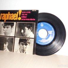 Discos de vinilo: RAPHAEL -MA VIE -MI VIDA-EP DE 4 CANCIONES -MADRID- HISPAVOX- 1964-. Lote 109430075