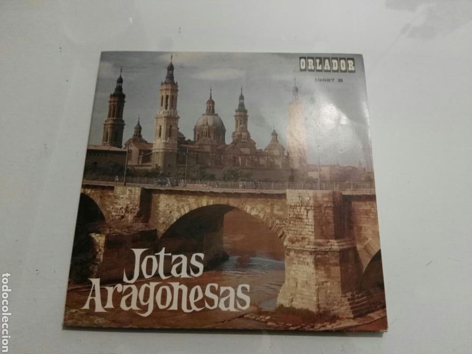 ENCARNITA RODRIGUEZ- EP JOTAS ARAGONESAS- ORLADOR 1967 ESPAÑA 6 (Música - Discos de Vinilo - EPs - Étnicas y Músicas del Mundo)