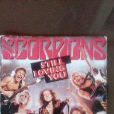 Discos de vinilo: SCORPIONS - STILL LOVING YOU - BIG CITY NIGHTS - BUEN ESTADO . Lote 109430983