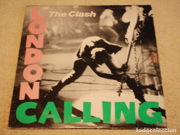 THE CLASH ( LONDON CALLING ) DOBLE LP33 1979-HOLANDA CBS RECORDS (Música - Discos - LP Vinilo - Punk - Hard Core)