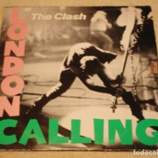 Discos de vinilo: THE CLASH ( LONDON CALLING ) DOBLE LP33 1979-HOLANDA CBS RECORDS. Lote 109431019