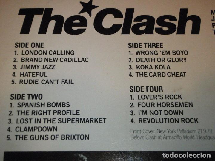 Discos de vinilo: THE CLASH ( LONDON CALLING ) DOBLE LP33 1979-HOLANDA CBS RECORDS - Foto 3 - 109431019