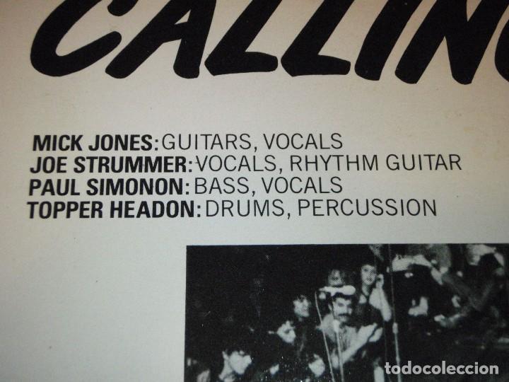 Discos de vinilo: THE CLASH ( LONDON CALLING ) DOBLE LP33 1979-HOLANDA CBS RECORDS - Foto 4 - 109431019