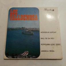 Discos de vinilo: LOS VALLDEMOSA- EP MONSIEUR DUPONT- PERGOLA 1969 ESPAÑA 6. Lote 109431447