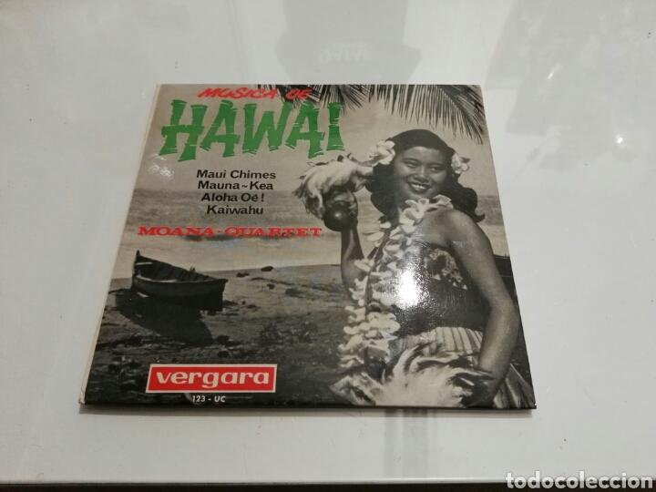MOANA-QUARTET- EP MUSICA DE HAWAI- VERGARA 1964 6 (Música - Discos de Vinilo - EPs - Étnicas y Músicas del Mundo)