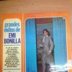 Discos de vinilo: LP EMI BONILLA GRANDES EXITOS DE . Lote 109435311