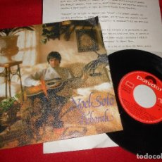 Discos de vinilo: NOEL SOTO DEBORAH/¿QUIÉN ME PRESTA UN VERSO? 7'' SINGLE 1981 POLYDOR + HOJA PROMO. Lote 109435799