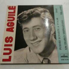 Discos de vinilo: LUIS AGUILÉ- EP PUEDES ECHARTE A VOLAR- ODEON 1963 ESPAÑA 6. Lote 109436408