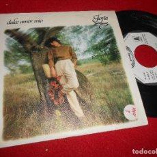 Discos de vinilo: GLORIA DULCE AMOR MIO/CONSEJOS 7'' SINGLE 1981 MOVIEPLAY PROMO. Lote 109436511
