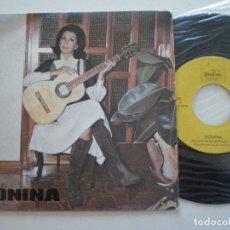 Discos de vinilo: DONINA ROMERO - UNA NOCE SIN ESTRELLAS / MIS PENAS - SINGLE CANARIAS DISCAN 1975 // DIS CAN RARO!. Lote 109437143