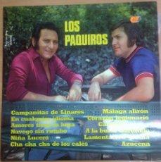 Discos de vinilo: LP LOS PAQUIROS /CAMPANITAS DE LINARES . Lote 109437755