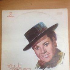 Discos de vinilo: LP NIÑA DE ANTEQUERA COLUMBIA 1979. Lote 109437839