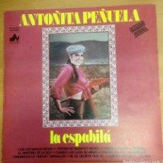 Discos de vinilo: LP ANTOÑITA PEÑUELA/ LA ESPABILA . Lote 109438311