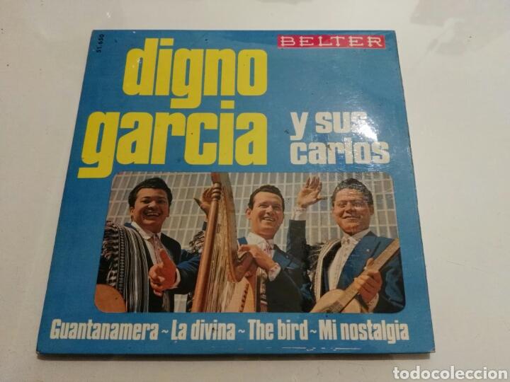 DIGNO GARCIA Y SUS CARIOS- EP GUANTANAMERA- BELTER 1966 ESPAÑA 6 (Música - Discos de Vinilo - EPs - Grupos y Solistas de latinoamérica)